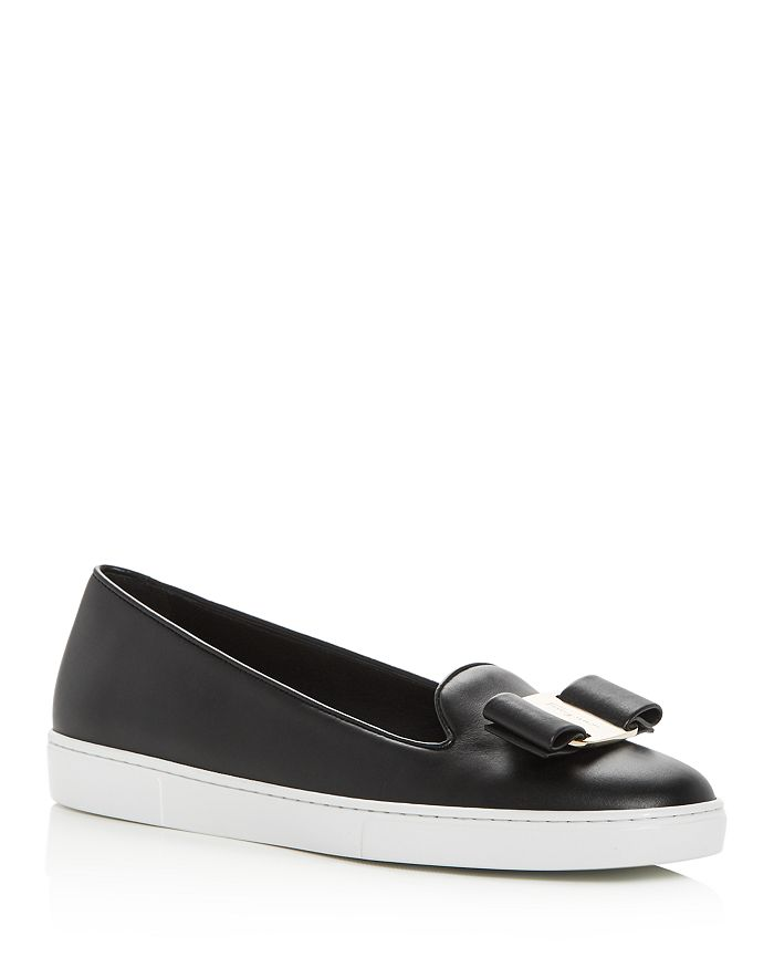 3c384c3134ea8 Salvatore Ferragamo - Women s Novello Slip-On Sneakers