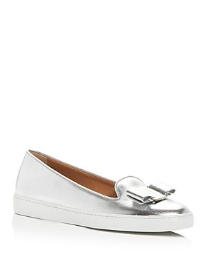 Salvatore Ferragamo Women's Novello Slip-On Sneakers
