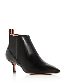 Bally - Women's Alanna Kitten-Heel Booties