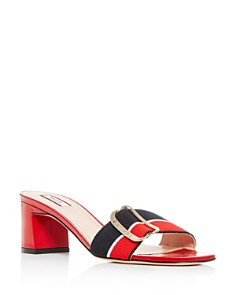 Bally - Women's Jordy Block-Heel Slide Sandals