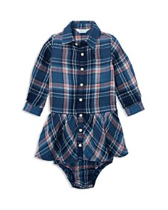 Ralph Lauren - Girls' Plaid Shirt Dress & Bloomers Set - Baby