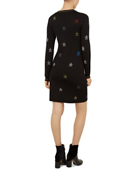 Ted Baker - Colour By Numbers Yayl Knit Star Dress
