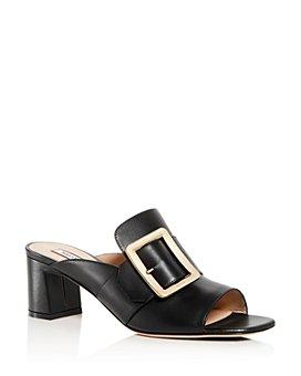 Bally - Women's Janaya Block-Heel Slide Sandals