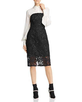 Adelyn Rae - Healy Strapless Lace Dress