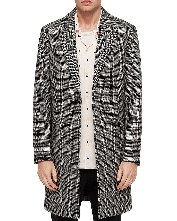 ALLSAINTS - Denver Checked Coat