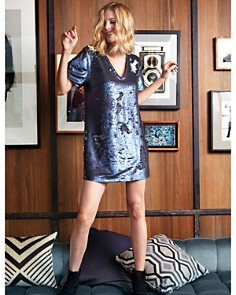 1.STATE - Sequined Shift Dress