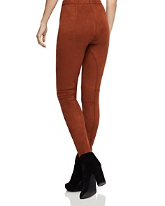 BCBGeneration - Seamed Faux Suede Skinny Pants