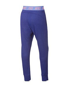 Nike - Girls' Slim-Fit French Terry Studio Pants - Big Kid