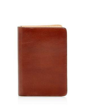 IL BUSSETTO Leather Bi-Fold Card Case - 100% Exclusive in Cappuccino