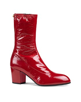 Gucci - Men's Patent Leather Boots