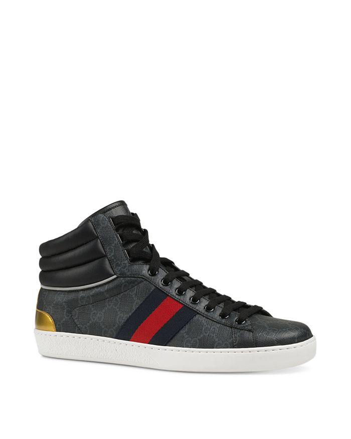 7bc03c62925 Gucci - Men s Ace GG Supreme High-Top Sneakers