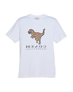 COACH - Logo-Rexy Graphic Tee