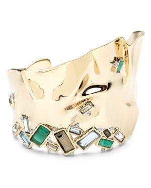 Alexis Bittar Multi-Stone Cuff Bracelet