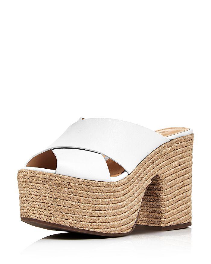 b706739d8c9f SCHUTZ - Women s Lora Leather Platform Espadrille Sandals
