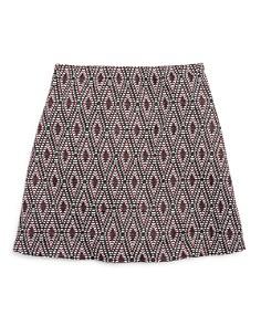 AQUA - Girls' Textured Skirt, Big Kid - 100% Exclusive