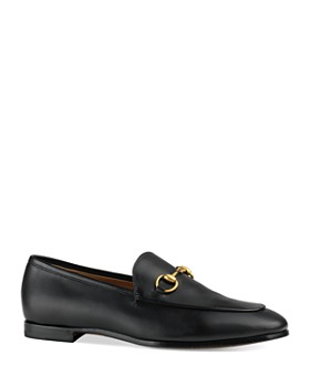 135c3e6e855 Gucci - Women s Jordaan Leather Loafers ...