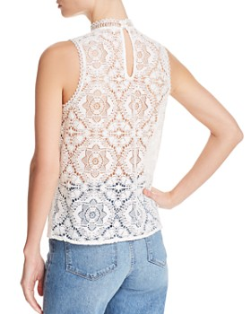 BB DAKOTA - Meet In The Meadows Lace Top