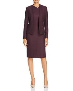 BOSS - Dechesta Glen Plaid Sheath Dress