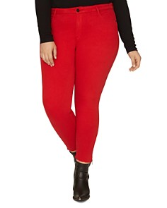 Sanctuary Curve - Social Standard Skinny Ankle Jeans in Street Red
