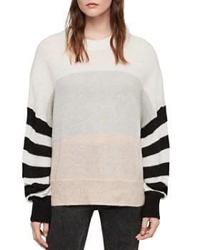 ALLSAINTS - Nicoli Color-Block Striped Sweater