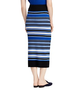 Ralph Lauren - Striped Knit Midi Skirt