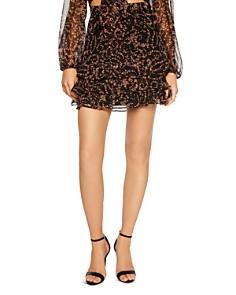 Bardot - Rah Rah Ruffled Floral Mini Skirt