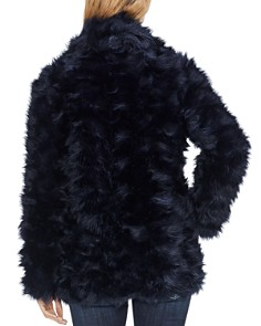 VINCE CAMUTO - Shaggy Faux-Fur Coat
