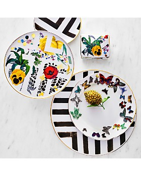 Vista Alegre - Butterfly Parade by Christian Lacroix Dinner Plate