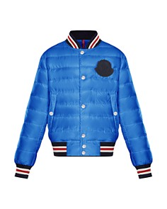 Moncler - Boys' Corbiac Quilted Down Bomber Jacket - Big Kid