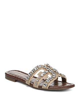 50cac21f7cb3 Sam Edelman - Women s Bay 8 Embellished Slide Sandals ...