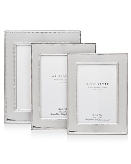 Argento SC - Amira Double-Bead Sterling Silver Frame