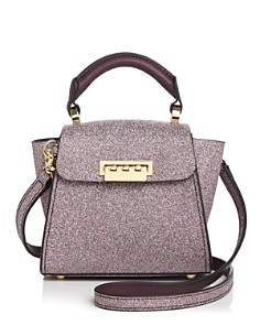 ZAC Zac Posen - Eartha Iconic Mini Glitter Leather Crossbody