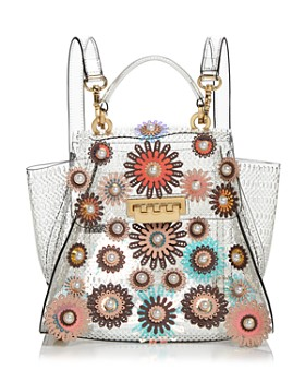 04f9e49bf020 ZAC Zac Posen - Eartha Embellished Glass Convertible Backpack ...