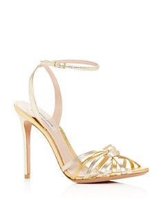 Armani - Women's Knotted High-Heel Sandals