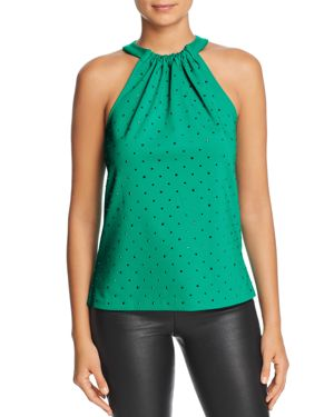 LE GALI Sahar Sleeveless Studded Top - 100% Exclusive in Green
