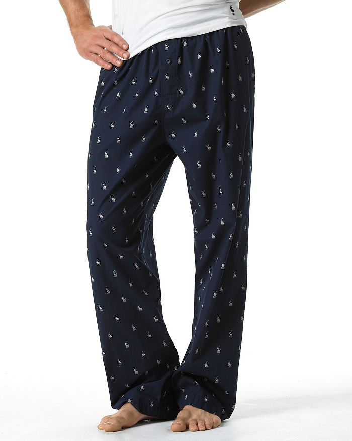 f0cc101415 Allover Pony Print Pajama Pants
