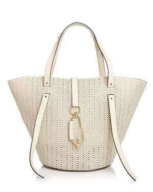 Zac Zac Posen Belay Large Perforated Leather Tote