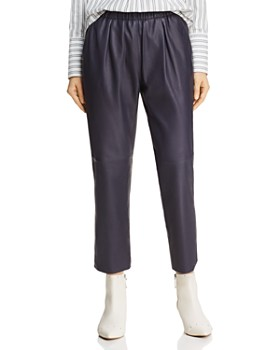 Joie - Araona Cropped Leather Pants