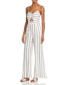Suboo - Eden Striped Jumpsuit