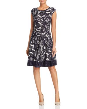 Nic+Zoe Melody Fit-and-Flare Dress