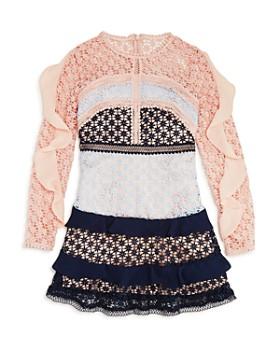 fd3460e9711 Bardot Junior - Girls  Arabella Color-Block Lace Dress - Big Kid ...