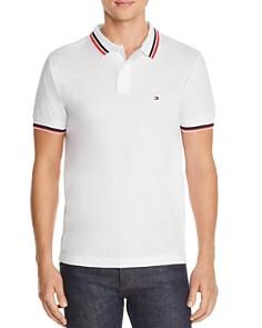Tommy Hilfiger - Stripe-Trimmed Polo Shirt