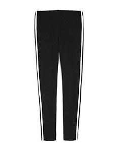 Adidas - Girls' Signature Striped Leggings - Big Kid