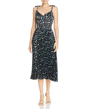 25d98ac47f4 Betsey Johnson - Pleated Floral Print Dress ...