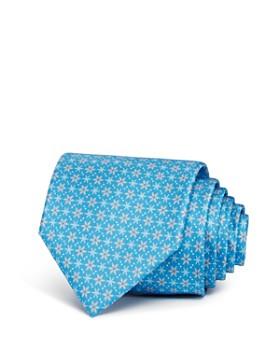 Salvatore Ferragamo - Snowflakes Silk Classic Tie - 100% Exclusive