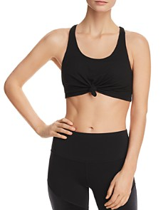 Alo Yoga - Knot-Front Sports Bra