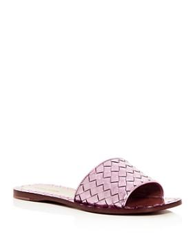 894413d4634 Bottega Veneta - Women s Woven Slide Sandals ...