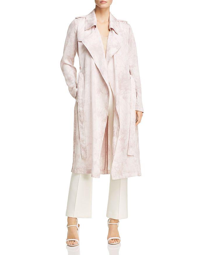 Badgley Mischka - Tie-Dye Trench Coat