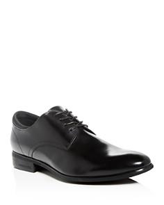 Kenneth Cole - Men's Levin Leather Plain-Toe Oxfords