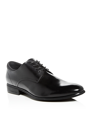 Kenneth Cole Men's Levin Leather Plain-Toe Oxfords